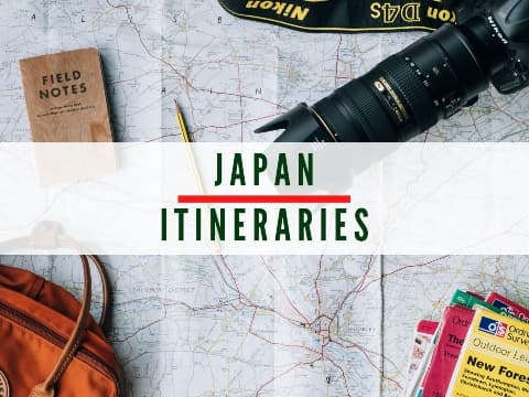 Japan Itineraries Button